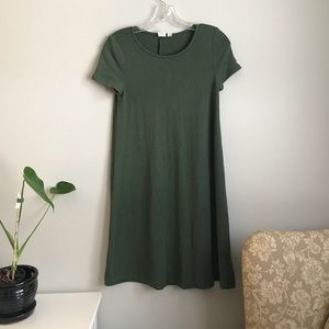 GAP Short-Sleeve Soft Spun T-Shirt Dress